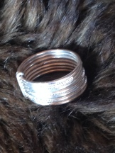 Wedding band (or days of the week, depending on which artisan you ask! ;) ). app size 5.5-6.5. $20